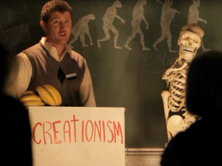Kirk Cameron and Charles Darwin square off in a musical Creation vs ...